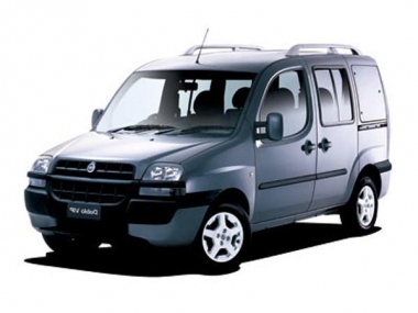 Коврики EVA Fiat Doblo 5 мест 2001 - 2005