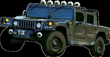 Коврики EVA Hummer H1 1992-2006