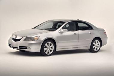 Коврики EVA Acura RL II Рестайлинг 2008-2012