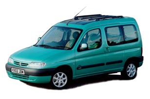 Коврики EVA Citroen Berlingo 1996 - 2008 (5 мест)